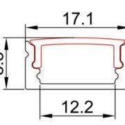 led-strip-profile-ALP002-R-size