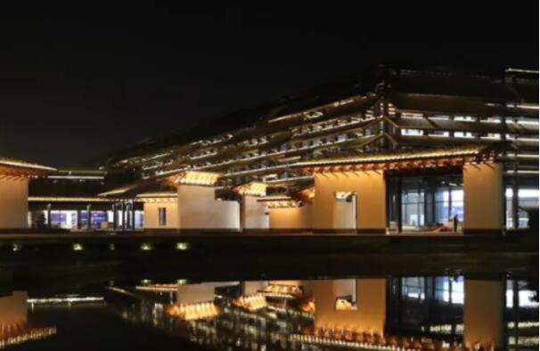 Night Wuzhen Internet International Convention and Exhibition Center