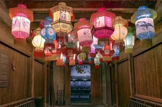 led lattern light in wuzhen