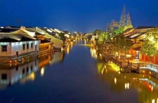 led lighting in wuzhen 1