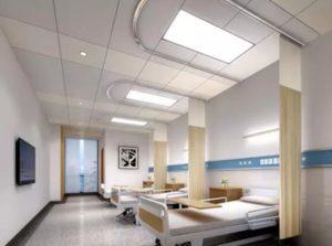Hospital ward led lighting design